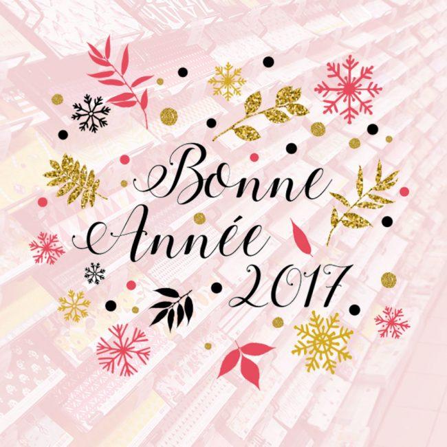 Bonne année 2017 chez Scrapmalin