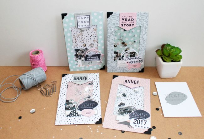 Happy 2017, nouvelle collection Kesi'art Scrapmalin