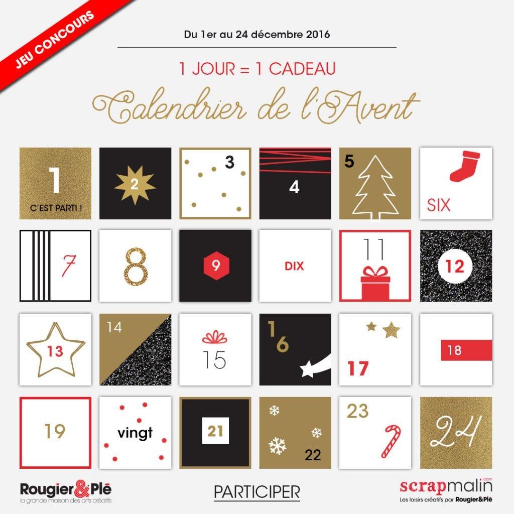calendrier 2016 scrapmalin