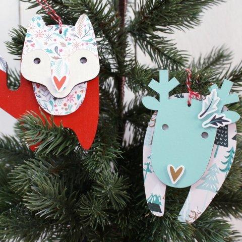 Décorations de Noël | Spiderlily Design | Réalisation Rougier & Plé