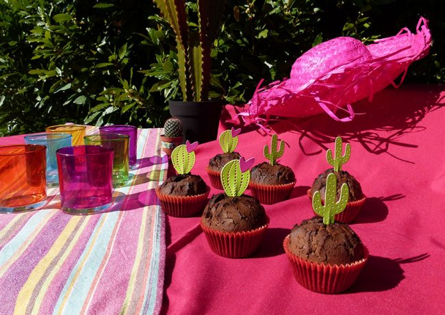 garden party cactus cupcake été sizzix