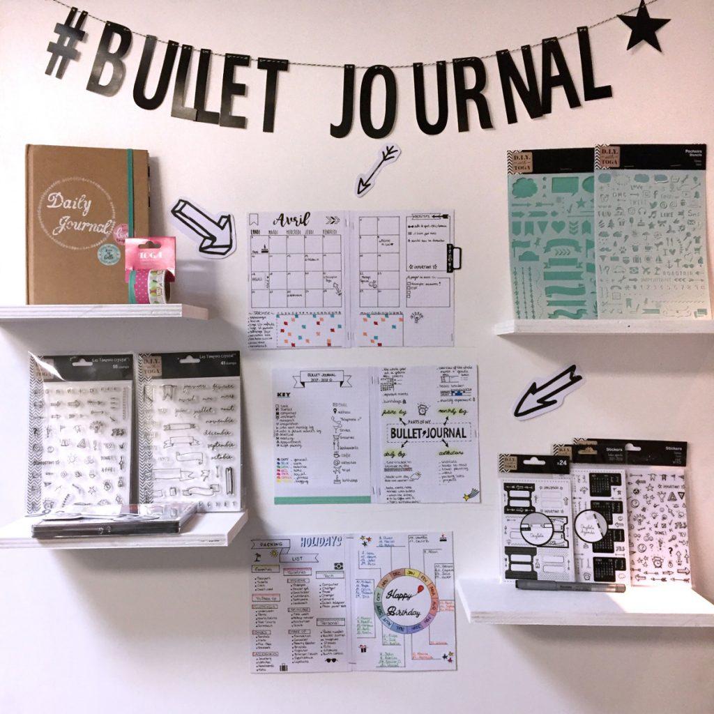 tuto personnaliser la couverture de son bullet journal le blog scrapmalin. Black Bedroom Furniture Sets. Home Design Ideas