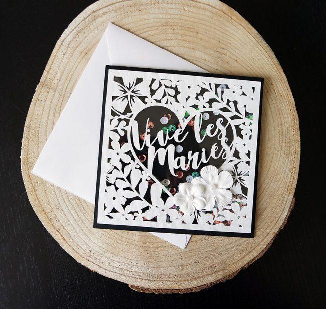 shakercard mariage scrapmalin