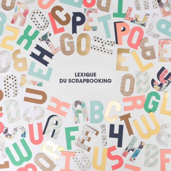lexique dictionnaire scrapbooking