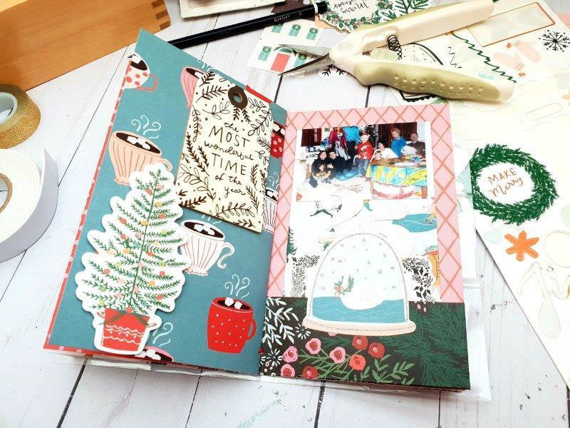 pages album noel crate paper merry days