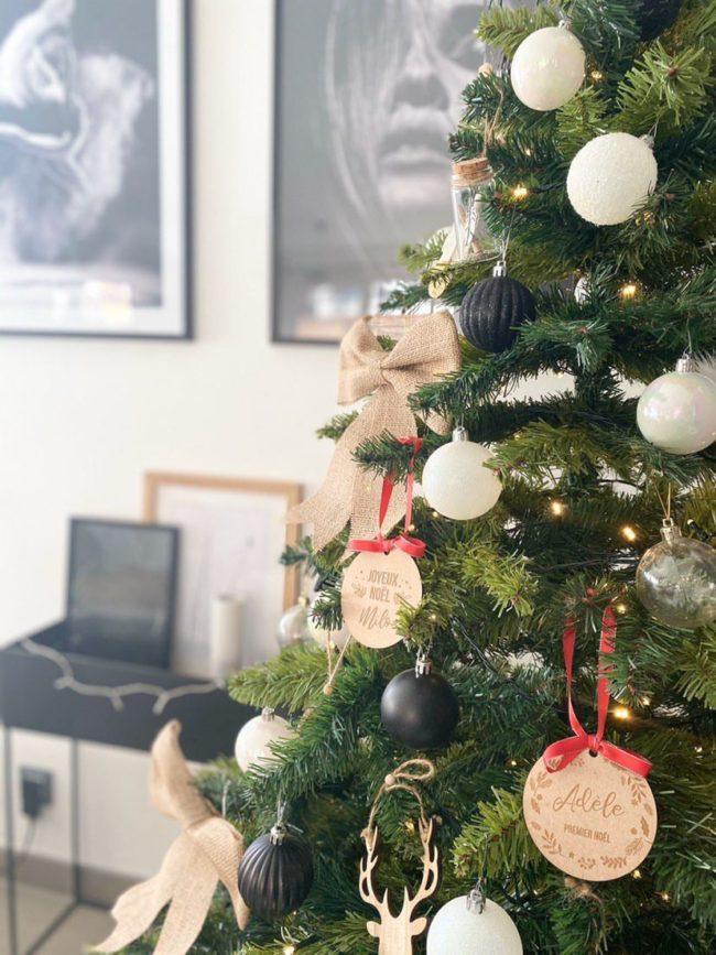 Noël personnalisé Scrapmalina