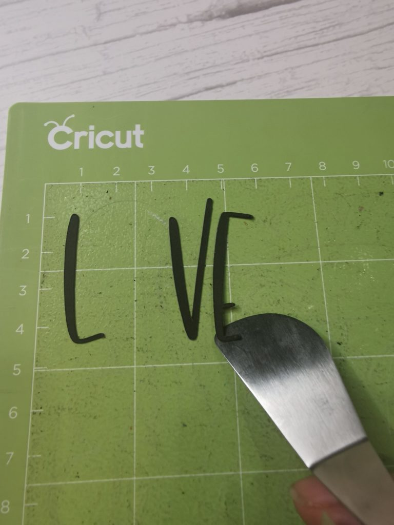 DIY Saint Valentin Cricut