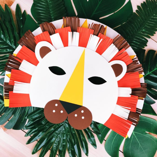masque Carnaval lion DIY