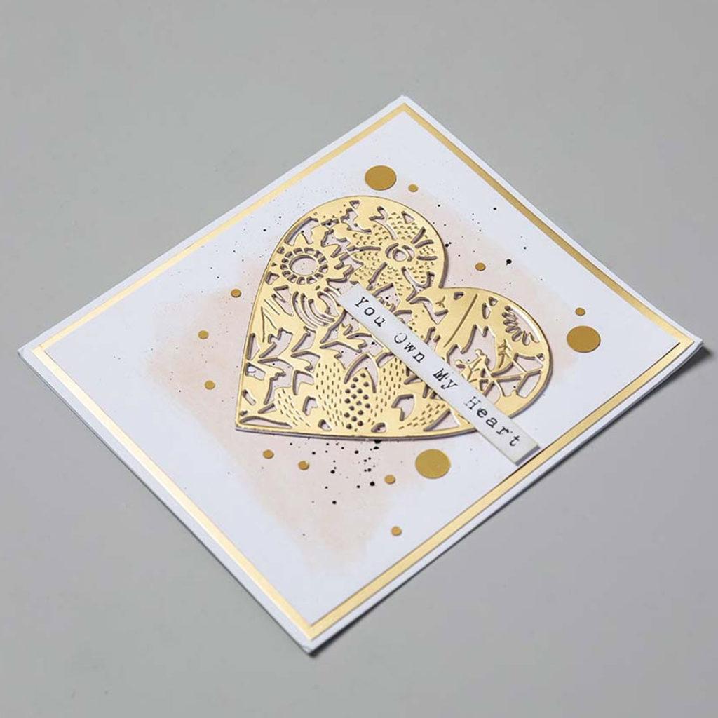 DIY Saint valentin carte